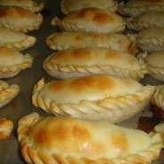 Empanadas de queso y cebolla de Santa Fé
