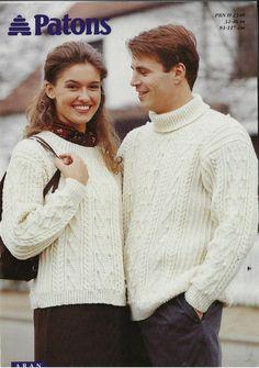 Tunic Sweater, Men Sweater, Baby Design, Pattern Books, Men And Women, Clothing Patterns, Online Price, Knitting Patterns, Turtle Neck
