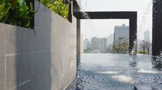 #thailand #bangkok #hotel #pool #skyline #water #view