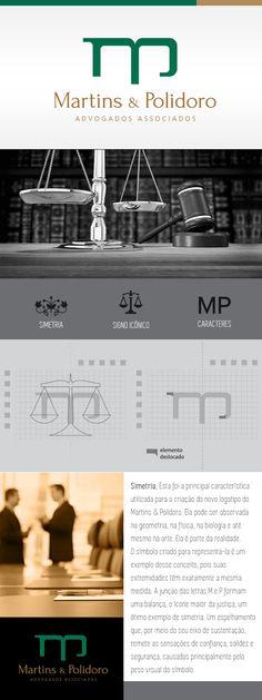 Logotipo: Martins e Polidoro - Advogados Associados   Designer: Ale De Rossi   Agência: Pit Comunicação