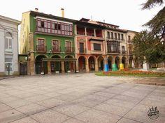 La ciudad de #Aviles en #Asturias (#España).