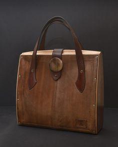 Eko wood. Bag and style by COOBwood on Etsy