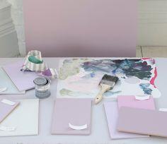 Designers Guild pink hues