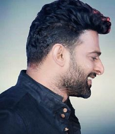 Image may contain: 1 person, beard and closeup Famous Indian Actors, Indian Celebrities, Indian Actresses, Handsome Male Models, Handsome Actors, Male Model Face, Bahubali Movie, Prabhas Actor, Indian Male Model