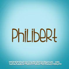 Philbert (Voor meer inspiratie, en unieke geboortekaartjes kijk op www.heyboyheygirl.nl)