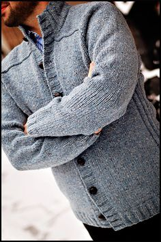 really nice men's sweater by jared flood. Brooklyn tweed pattern