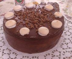 Csoki torta Pudding, Desserts, Food, Tailgate Desserts, Meal, Dessert, Eten, Puddings, Meals