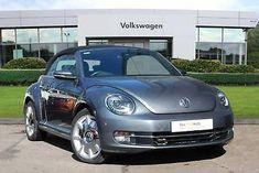 2015 Volkswagen Beetle convertible TDI Diesel, Vw Beetle For Sale, Beetle Convertible, Cabriolet, Vw Beetles, Volkswagen, Ebay, Black, Design
