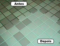 """Mistura """"mágica"""" para limpar rejunte - Dicas e Truques Online"""