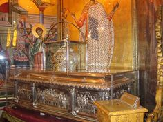 MYSTAGOGY: The Myrrhgushing Miracle of St. Demetrios in 1987: A Testimony