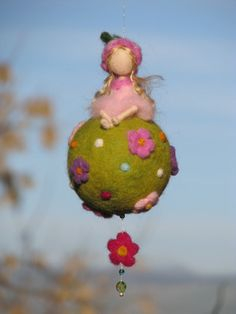 Waldorf inspiriert Nadel Filz Frühjahr Fee von Made4uByMagic                                                                                                                                                                                 Mehr