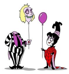 Beetlejuice cartoon by teresa