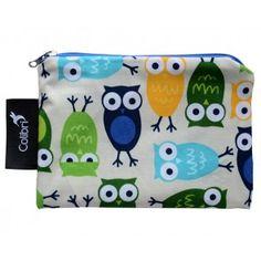 Colibri - Small Reusable Bag - Owls
