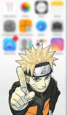 iPhone 5/5c/5s Wallpaper Naruto S.