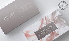 Modern busieness card template premade business card design