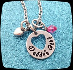 Daddy's Girl Necklace, Daughter Jewelry, Gift For Daughter from Daddy, Girls Jewelry, Little Girl Birthday Gift