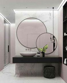 Beautiful Bathroom Mirror Ideas For a Small Bathroom, gorgeous bathroom mirror ideas are enjoyable, stylish and also creative which is ideal for y. Beautiful Bathroom Mirror Ideas For a Small Bathroom, gorgeous bathroom mirr. Bathroom Mirror Lights, Cool Mirrors, Mirror Vanity, Diy Mirror, Wall Mirror Ideas, Unique Bathroom Mirrors, Modern Mirrors, Bathroom Mirror Design, Light Bathroom