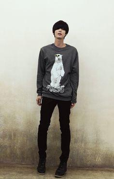 Won Jong Jin #ulzzang #fashion #korean