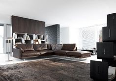 The beautiful design, by Valentini, Slim C2 Layout sofa can now be found at design2taste.com