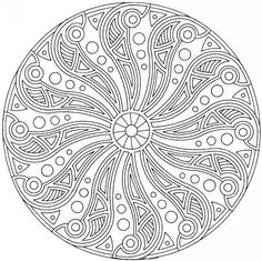 mandalas | pin mandalas complexe coloriage picture to pinterest