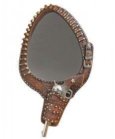 Western Pistol Mirror
