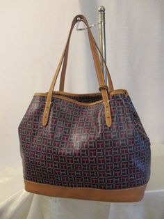 Tommy Hilfiger Handbag Lg Shopper Style 6925357 Retail $118.00 Ship Worldwide…
