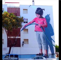 New Street Art by José Fernández Ríos in Estepona, Spain