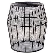 Linhigh End Table Woven Wire - Threshold™