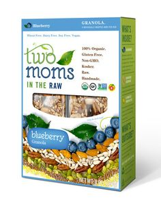 Two Moms in the Raw Blueberry Bars are a tasty and surprisingly filling snack - with much less sugar than some of their competitors.