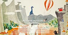 New Moomin Museum will open in Tampere, Finland - take part in a competition - Moomin.com : Moomin.com