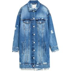 Zara Longline Denim Jacket as seen on Selena Gomez