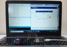 Testing IoT Based Air Quality Monitoring System with Twitter Notification Iot Projects, Tool Board, Temperature And Humidity, Circuit Diagram, Air Pollution, Arduino, Monitor, Twitter, Design