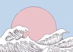 Imagen de pink, art, and pastel