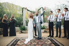 Vintage-Meets-Urban Palm Springs Wedding: Laura + Ken | Green Wedding Shoes Wedding Blog | Wedding Trends for Stylish + Creative Brides
