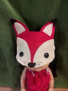 Fox Costume for 16 or 18 inch Dolls by WiggleAndRoo on Etsy, $14.99