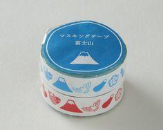 Mt Fuji's Masking tape