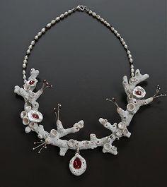 Labor of Love, bridal neckpiece Donna Greenberg