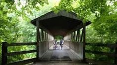Kal-Haven Trail State Park is a 34-mile crushed limestone path connecting South Haven and Kalamazoo.