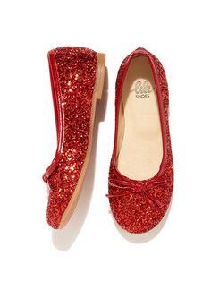 Sparkly ballets flats for little peeps. (Lili | Diana Ballet Flat)