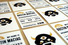 Brilliant and Illustrated Business Cards for Your Inspiration - You The Designer | You The Designer