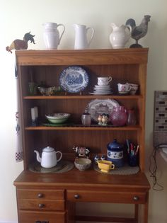 My vintage display