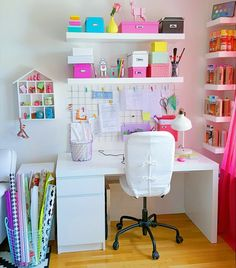 56 Super ideas for school organization bedroom home office Bedroom home ideas Of. 56 Super ideas for school organization bedroom home office Bedroom home ideas Office 56 Super idea Home Office Bedroom, Room Ideas Bedroom, Bedroom Decor, Decorating Bedrooms, Study Room Decor, Cute Room Decor, Pinterest Room Decor, Sewing Room Organization, School Organization