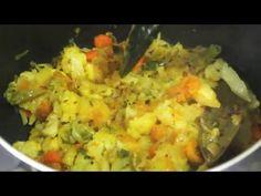 মিক্সড সবজি ভাজি (mixed vegetable Bhaji)   bangladeshi Hotel style Bhaji recipe - YouTube
