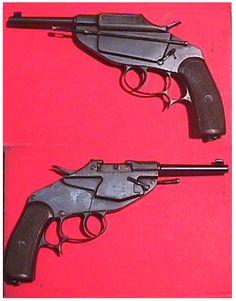 German Schlegelmilch M1891 pistol