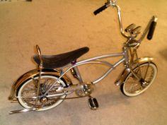 Dream Bike-  SCHWINN LOWRIDER VINTAGE CLASSIC COLLECTABLE CHILDS VELVET BANANA SEAT BICYCLE