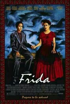 Frida Directed by Julie Taymor. With Salma Hayek, Alfred Molina, Geoffrey Rush, Mía Maestro. A biography of artist Frida Kahlo, who channeled the pain of a crippling injury and her tempestuous marriage into her work. Streaming Movies, Hd Movies, Movies To Watch, Movies Online, Movies And Tv Shows, Film Watch, Streaming Vf, Salma Hayek, Film Movie