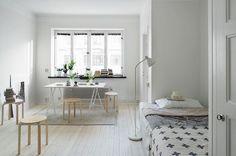 一人暮らし、新婚、カップルなど、ワンルームの住まいをおしゃれにレイアウトしたい方必見! 北欧風で素敵な暮らし、…
