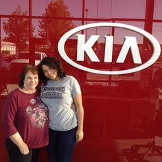 Thank you Sydney and Keleta for coming to Lawrence Kia for your Chevy Cruze! - C. Pena