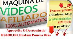 Maquina de Fazer Videos de Afiliado Conteúdos Automáticos Do Josue Soare...