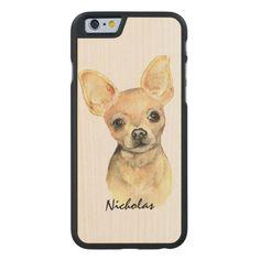 Custom Name Cute Chihuahua Dog Pet Animal